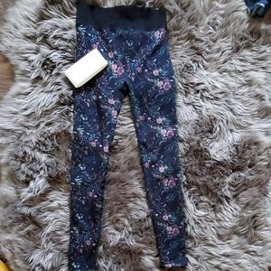 Anthropology faux fur lined legging
